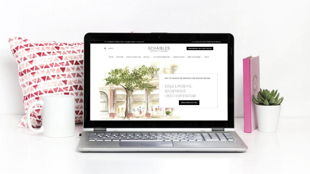 Portfolio Schaibles Boutique